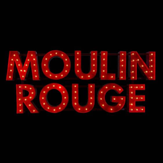 Marquee Light Sign Moulin Rouge With Images Moulin Rouge