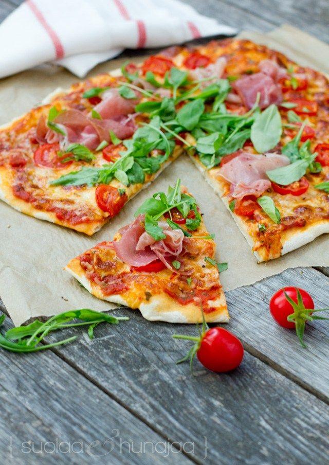 Pizzan Paistaminen