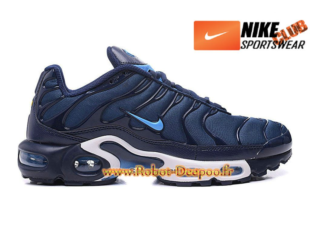 new arrivals fe68c 1a9d6 Nike Air Max Tn Tuned Requin 2016 Chaussures Nike Basket Pas Cher Pour Homme  Bleu 604133-802
