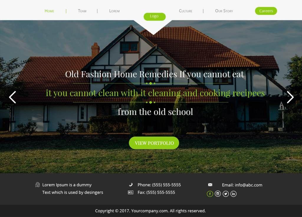 Real Estate Landing Page Psd Free Psd Landing Page Mockup Pages Landing Landing Page Desig Real Estate Landing Pages Real Estate Website Design Landing Page