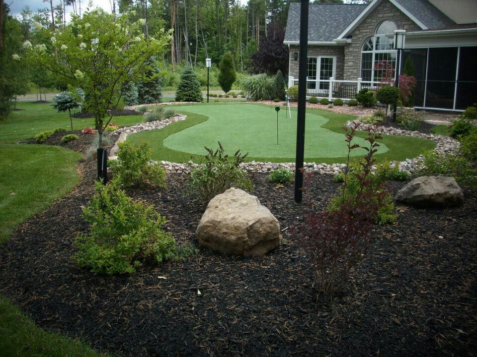 Landscaping Ideas Backyard Golf Course   Mystical Designs ...