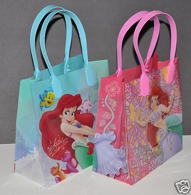 12ps Disney Ariel The Little Mermaid Lootgoody Bags Party Favors