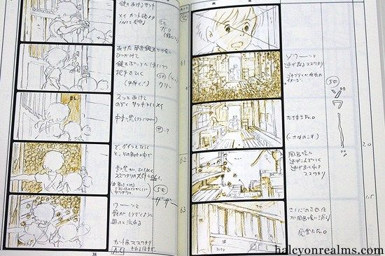 The Art Of Totoro  The Storyboard Book  Halcyon Realms  Art