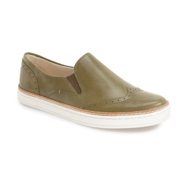 Women's Ugg 'Hadria' Slip-On Sneaker (4.180 RUB) ❤ liked on