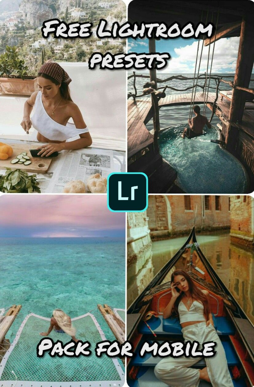 Lightroom FREE pack for mobile, [DNG] for IOS & Android