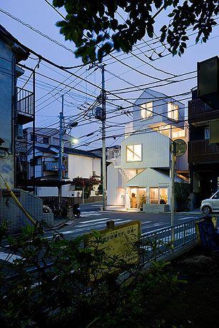 Iwan Baan Photography Tokyo Apartment Sou Fujimoto Architecture Exterior