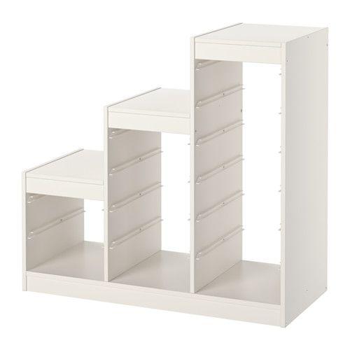 Trofast Opbergkast Ikea.Trofast Frame White In 2019 Art Studio Ikea Trofast Childrens