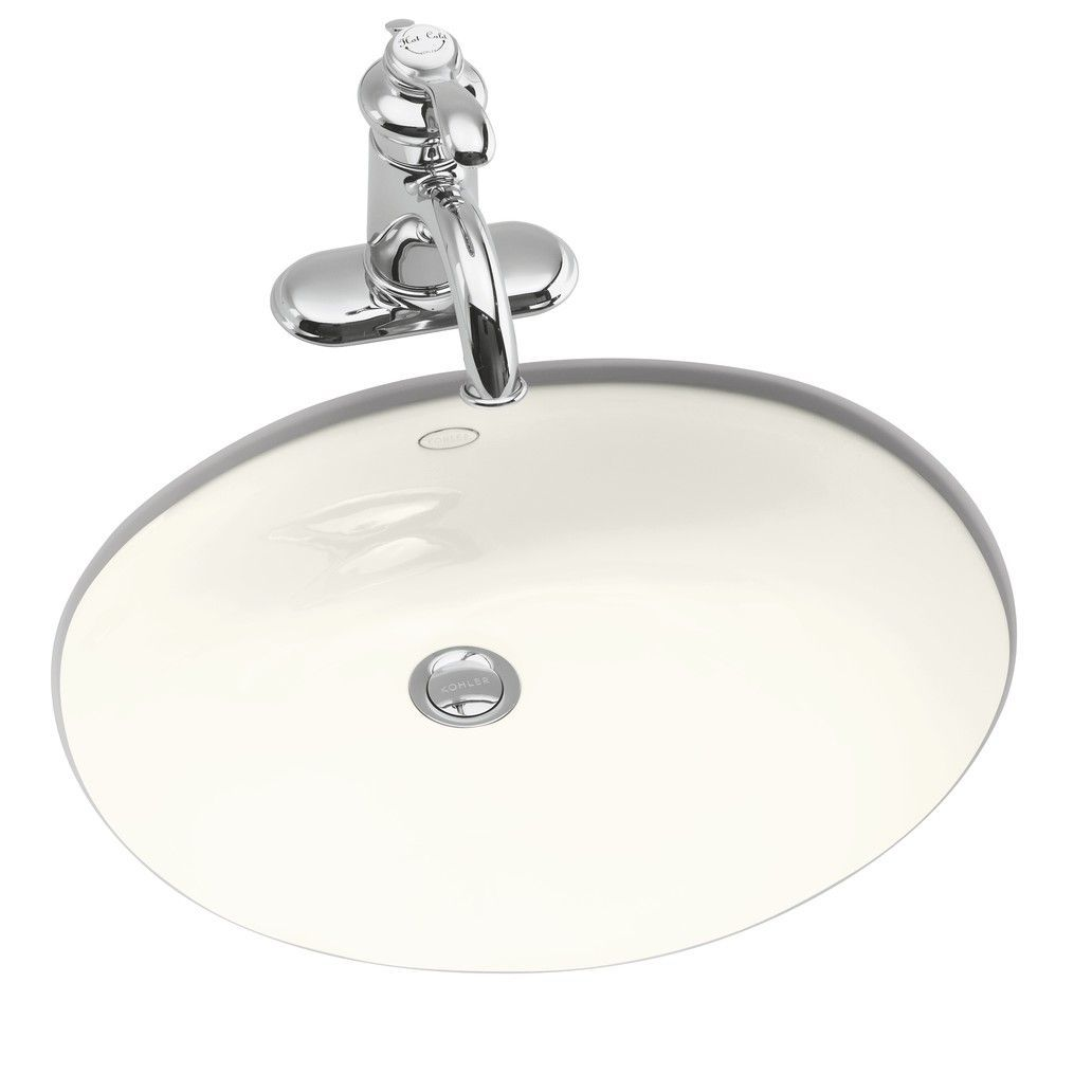 Kohler Caxton K2209 Undermount Bathroom Sink Thunder Grey Sink