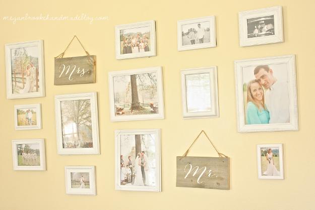 Displaying Wedding Photos:: Gallery Wall | Displaying wedding photos ...