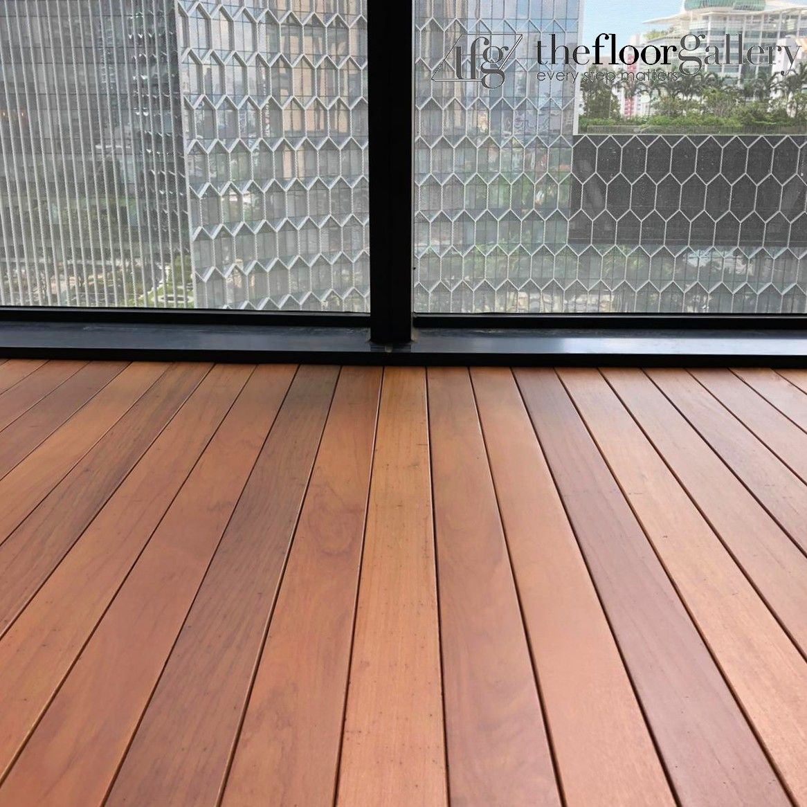Chengal Is One Of The Commonly Used Material For Decking As It Is Elegant And Stunning Outdoor Decor Balcony Deck Deck