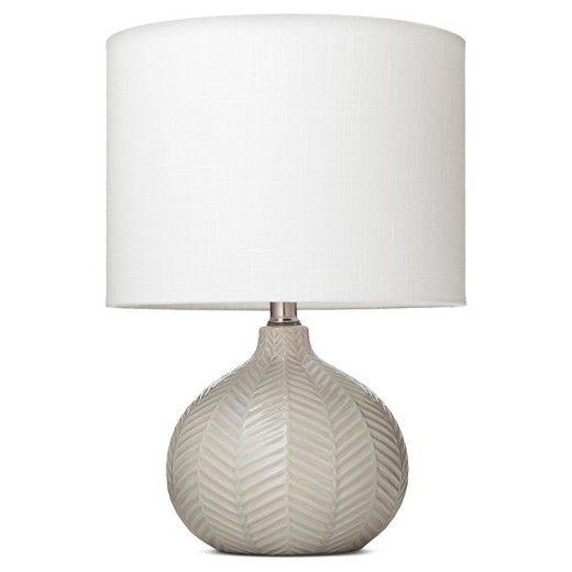 Herringbone Ceramic Table Lamp   Cream   Threshold™