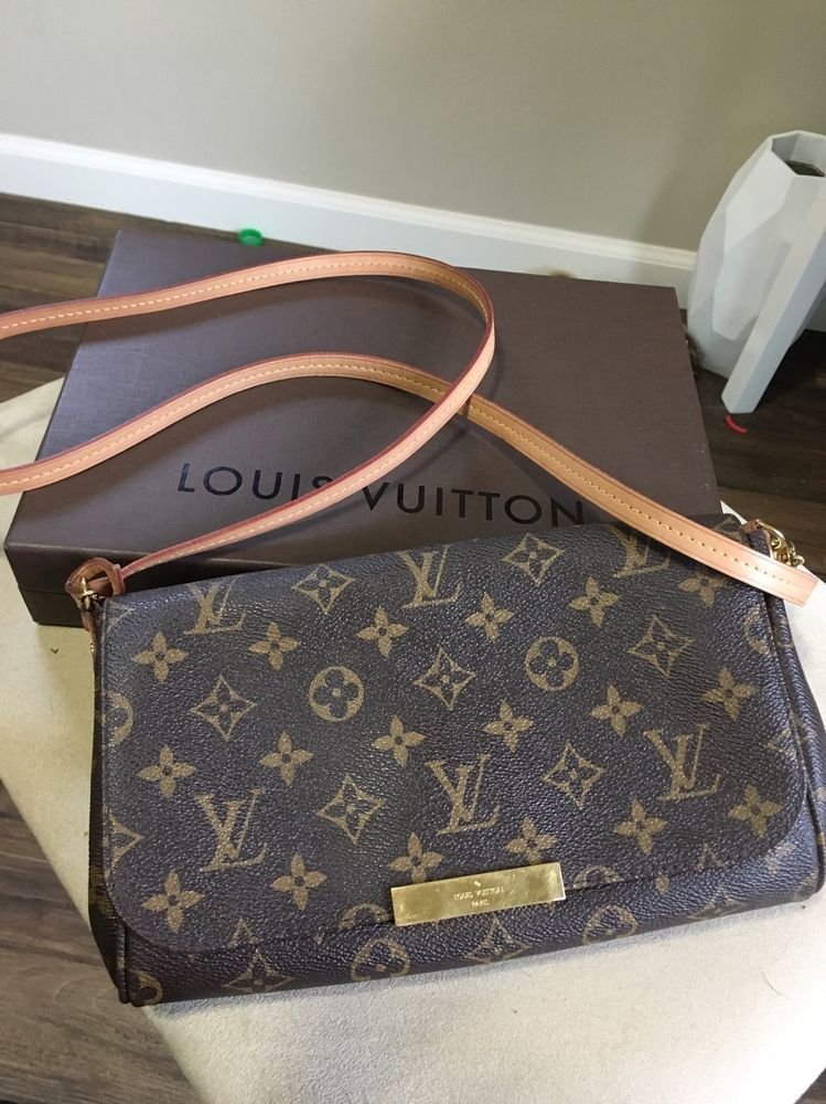 dd60672c8154 Authentic Louis Vuitton Favorite MM Crossbody Bag | eBay | Things I ...