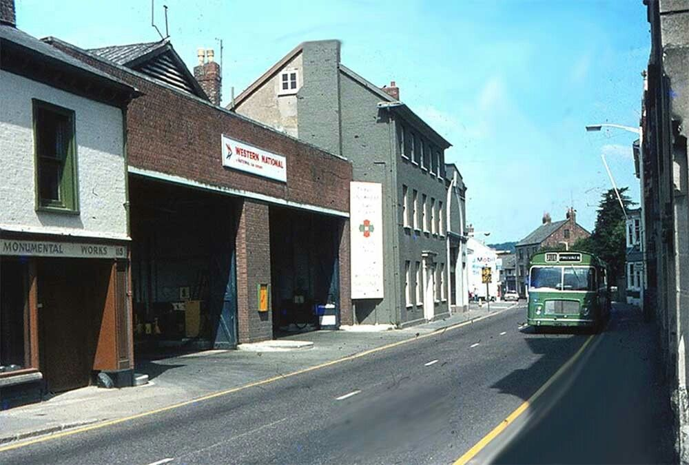 Pin By Peggy Strong On North Devon Barnstaple Street Bus Station
