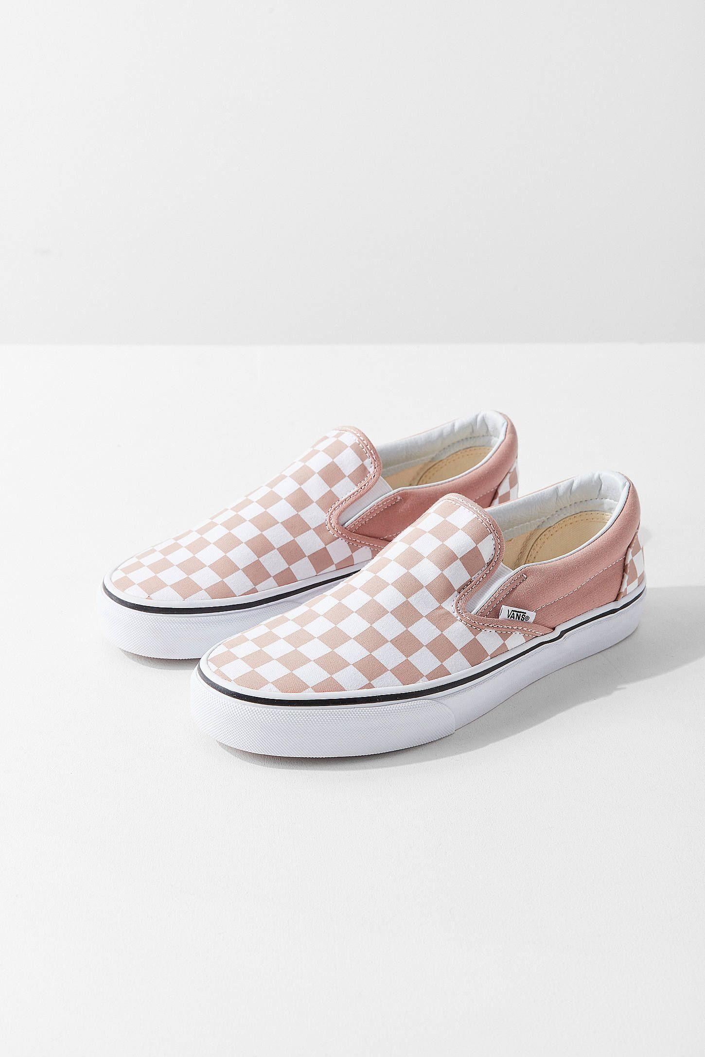 Vans Checkerboard Slip-On Sneaker in