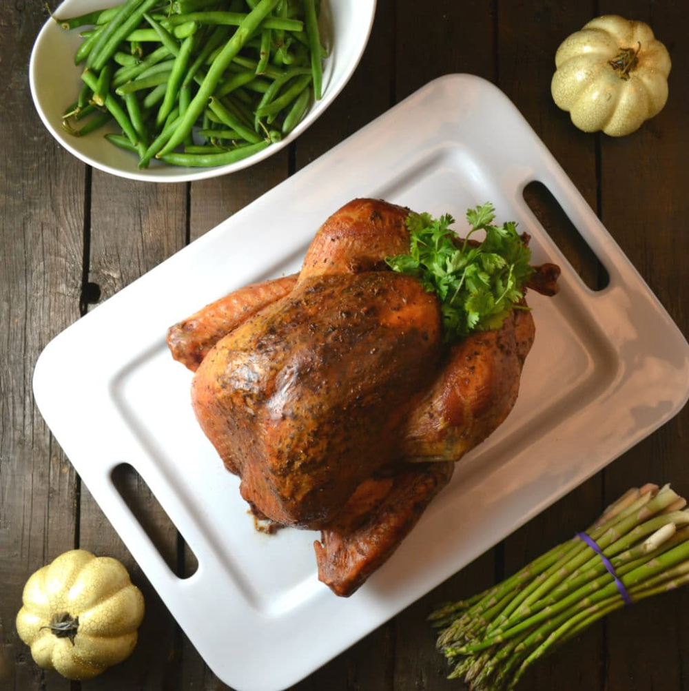 Pavochon Thanksgiving Turkey Puerto Rican Style https