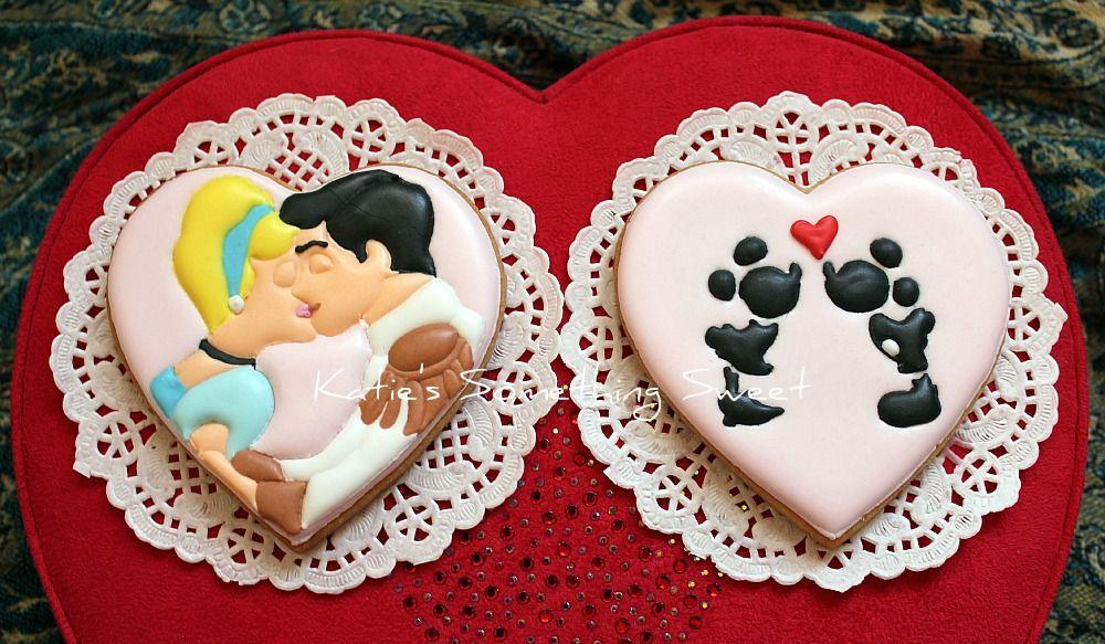 Romantic Cookies - Happy Valentine's Day!