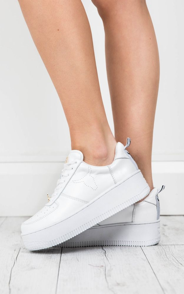 892dbd9617ae Windsor Smith - Racer Sneakers In White Leather Produced