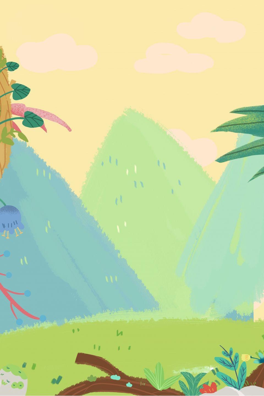 Background Animasi Hutan : background, animasi, hutan, Kartun, Ilustrasi, Percuma, Hutan, Indah, Ilustrasi,, Kartun,, Lukisan, Kaktus