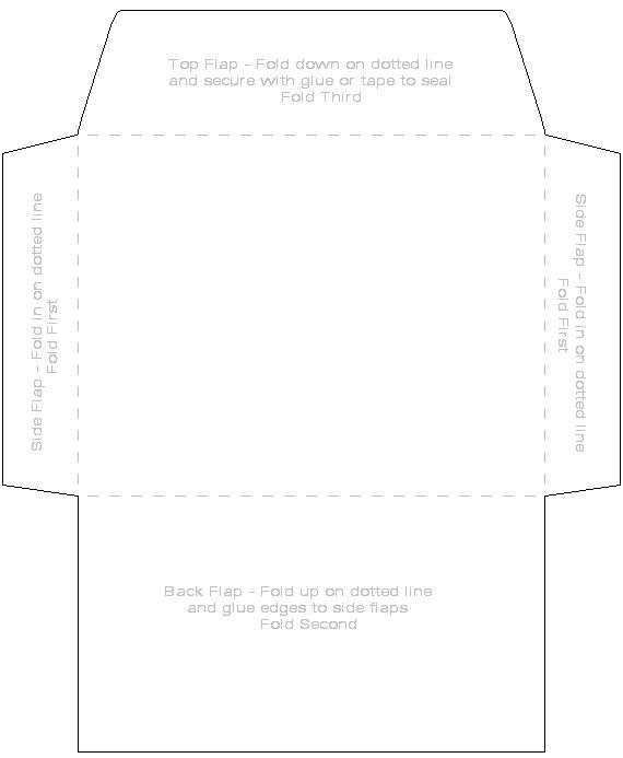 Create Cool Envelopes With These Free Templates More Envelopes ideas - 4x6 envelope template