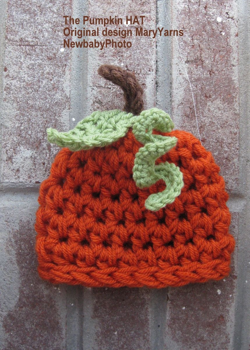 Little pumpkin hat. Perfect to take home a fall baby.