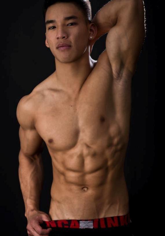 Beautiful asian gay men