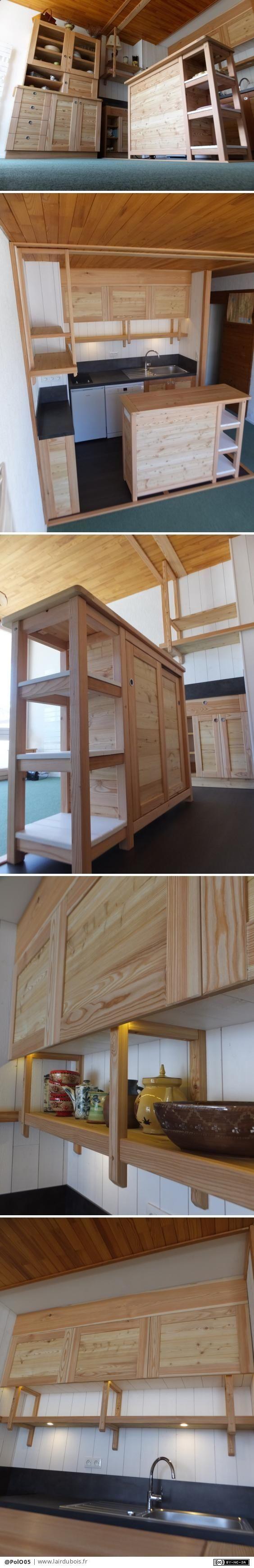Agencement d 39 un petit coin cuisine par polo05 tiny house living meuble four coin cuisine et - Petit coin cuisine ...
