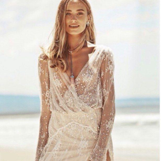 Wedding Entourage Hairstyle: Boho Wedding Dress, Nontraditional Wedding