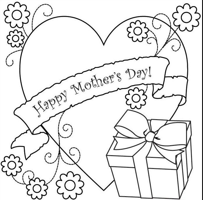 Happy Mothers Day Coloring Pages Free http://letmehit.com/happy ...