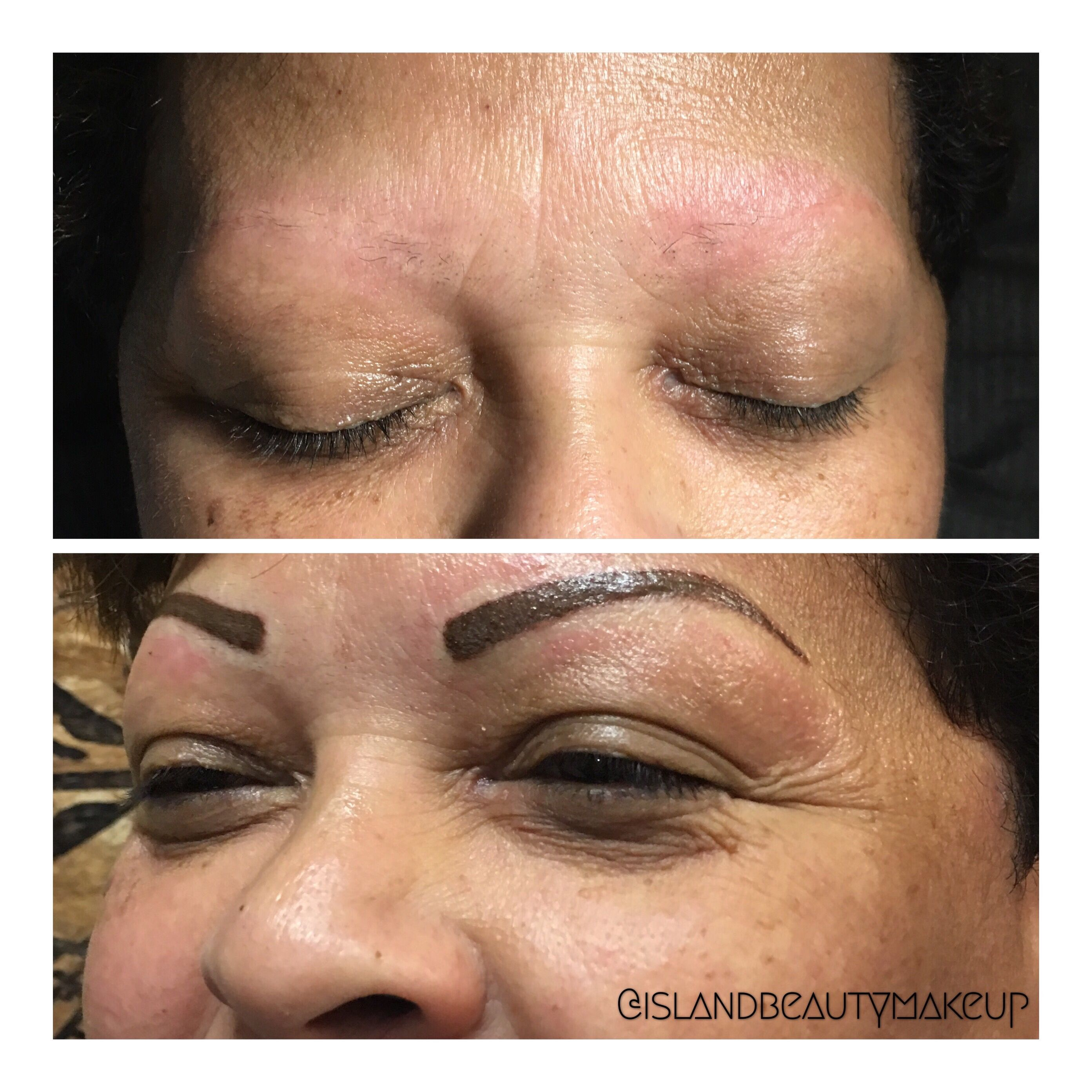 New browwho dis permanent makeup cosmetics brows in