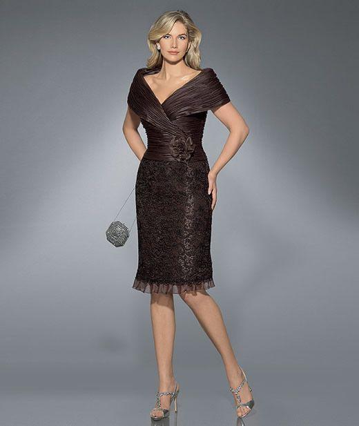Imagenes de vestidos de fiesta para mujeres mayores