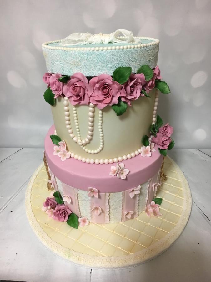 Decorating Hat Boxes Stunning Hat Boxesrock And Roses Cake Co Cakes & Cake Decorating Design Decoration