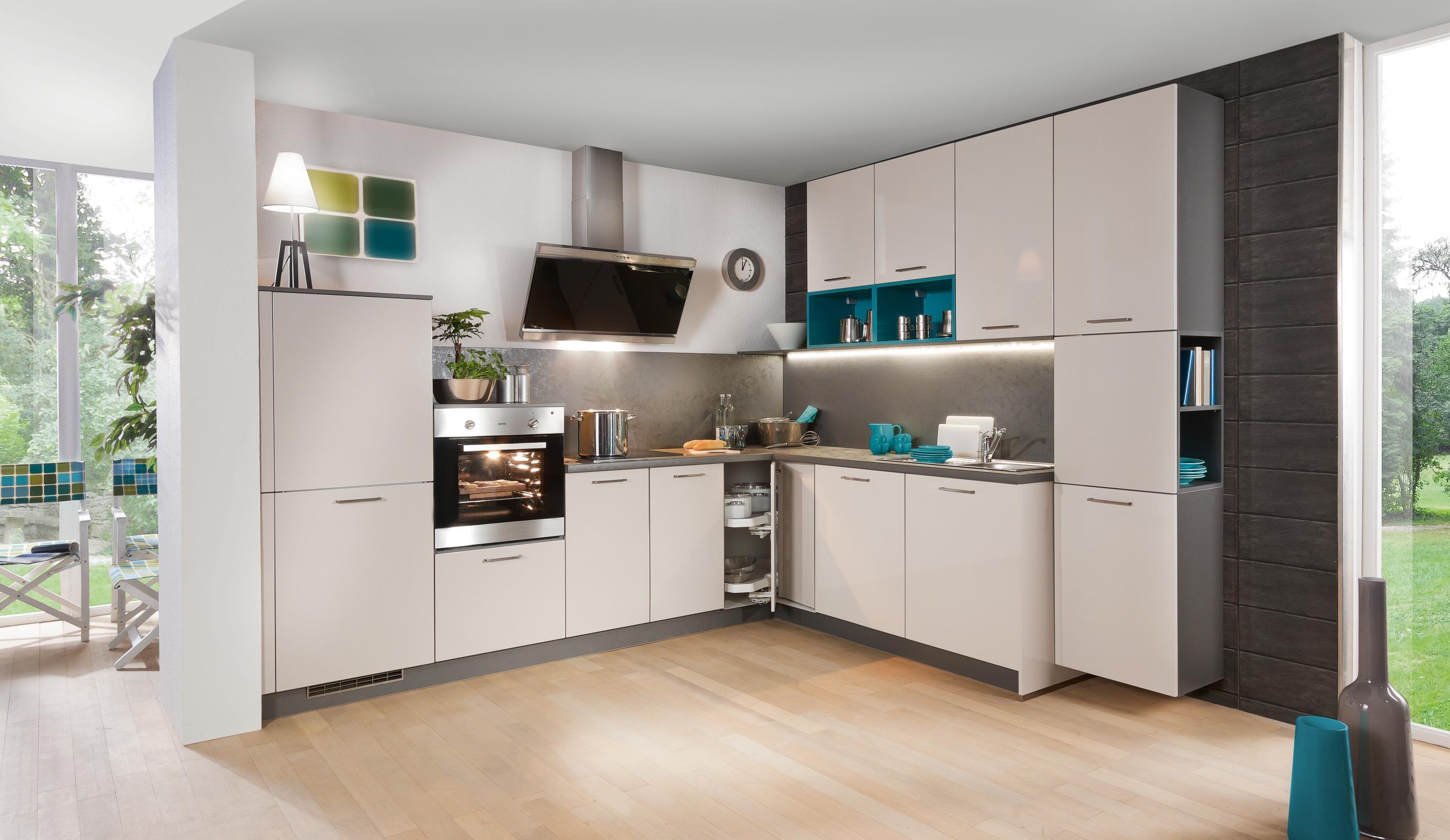 Eckküche für Hobbyköche und Feinschmecker - für stilvollen Wohnkomfort