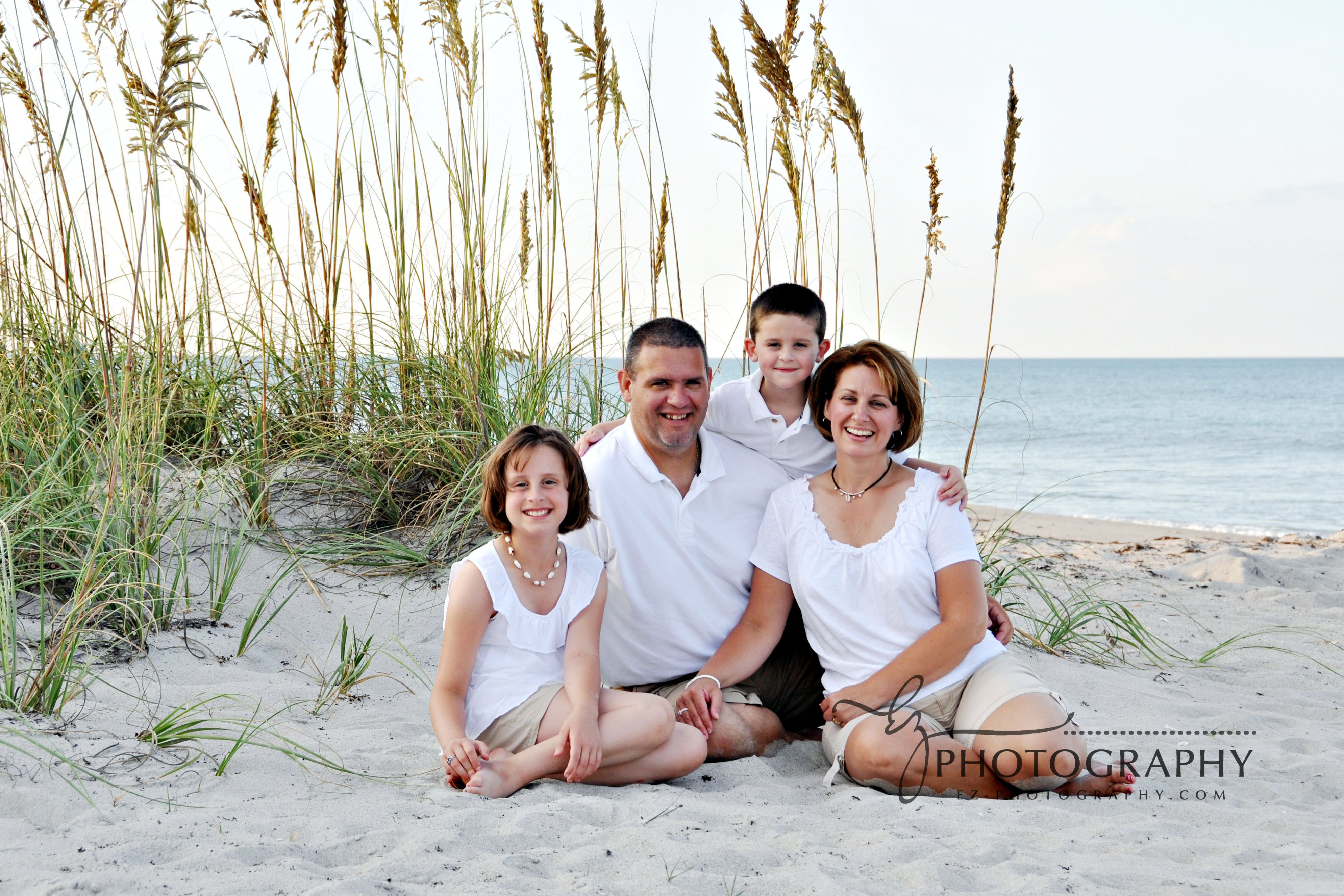 Beach Family Photos Cocoa Beach Family Portrait Photographer Photographers Melbourne