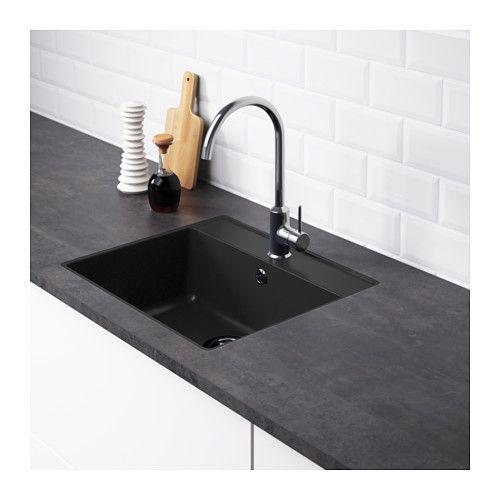 HÄLLVIKEN Indbygningsvask 1  - IKEA
