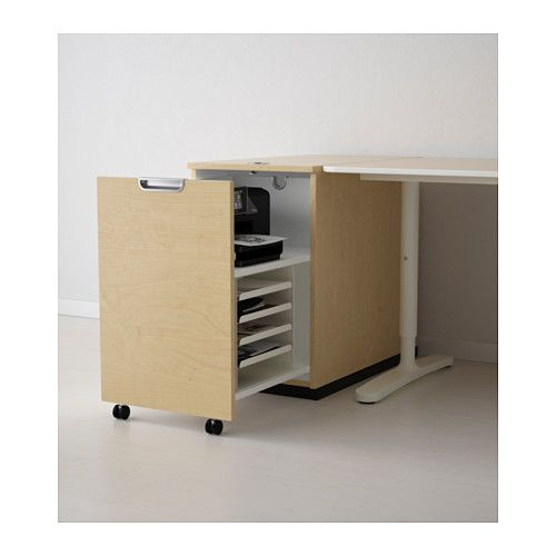 for printer - front slides out, shelves inside! // GALANT Storage ...