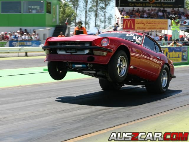Robbie Ward's DATSUN 240Z Modified Dragster (1350 kg)