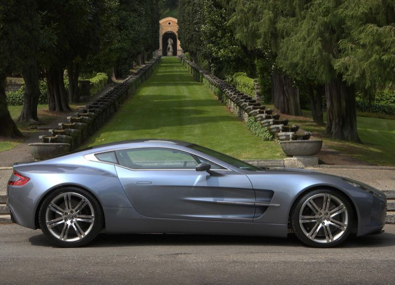 10 Of The Most Expensive Sports Cars Ever Sold: Aston Martin One 77: