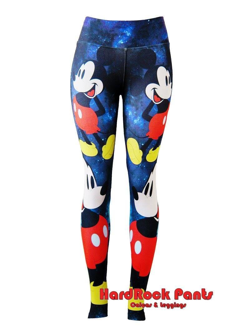 Calça Legging Estampada Coleção Disney  Mickey Mouse  calça  legging   estampada  sublimada 437599b0b9198