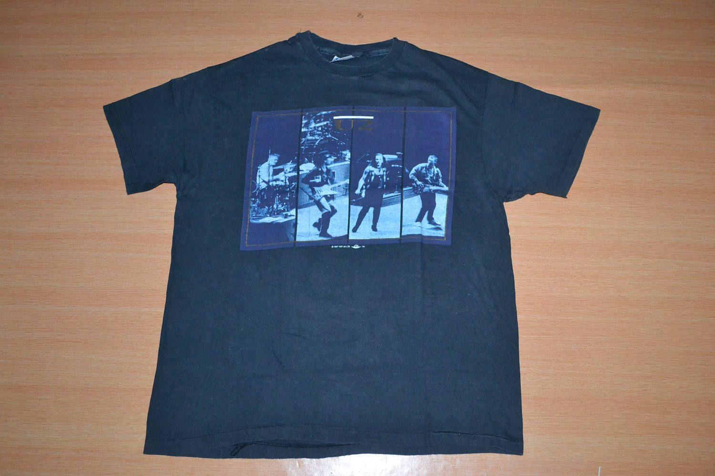 Black sabbath t shirt etsy - Vintage 1987 U2 The Joshua Tree Tour Concert Promo Album Rare 80s T Shirt