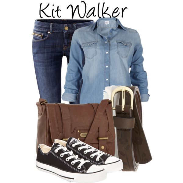 """Kit Walker"" by fofandoms on Polyvore"