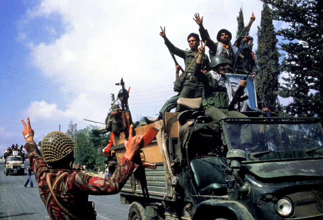 August 28 1982 Syrian Forces Begin To Withdraw From Lebanon By