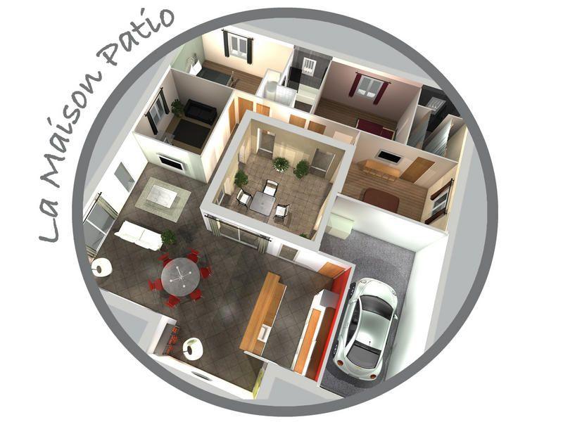 La Maison Patio Maison patio Pinterest House