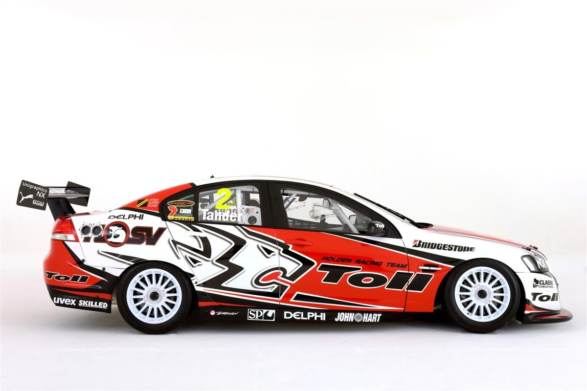 2010 Toll Holden Racing Team V8 Supercar Commodores Unveiled Super Cars Racing Team Holden