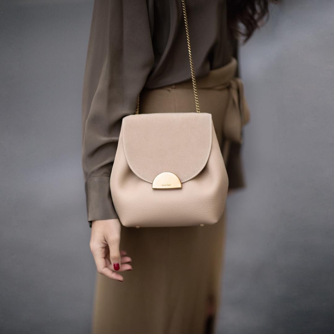 5fbbea250f21 Numéro Un Mini - Édition Trio Sable #polene #handbag #fall #collection #sand  #color