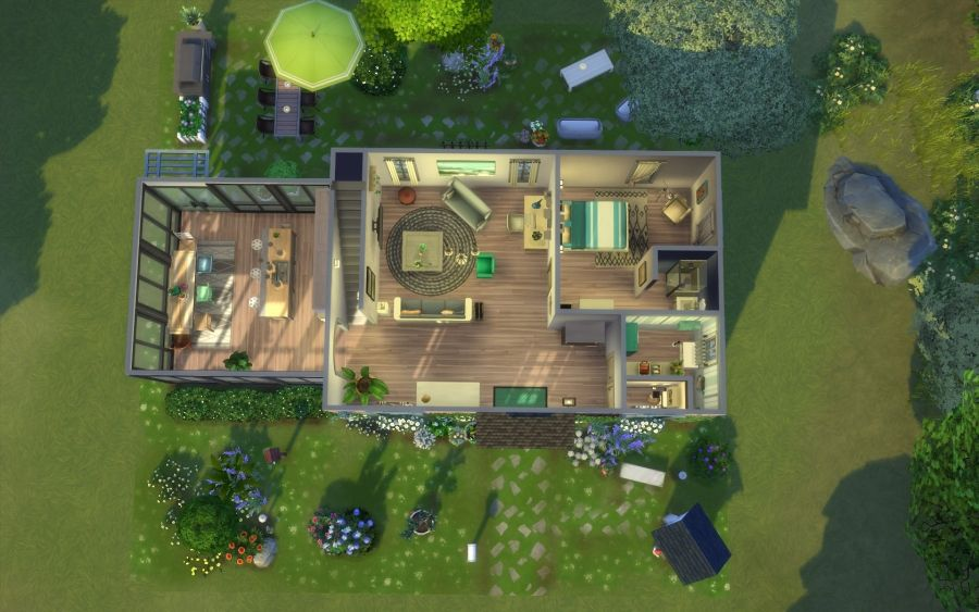 Sims 4 Maison Ancienne Rose Building House Home Sims 4 Maison Sims Maison Sims