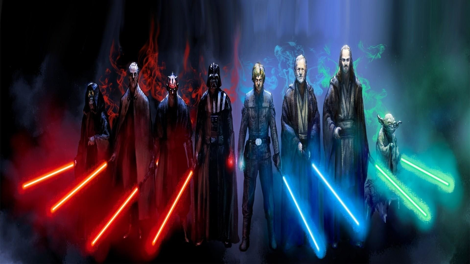 10 Best Jedi And Sith Wallpaper Full Hd 1920 1080 For Pc Background Star Wars Wallpaper Star Wars Concept Art Star Wars