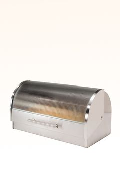 Bread Boxes Bed Bath And Beyond Amusing Stainless Steeltempered Glass Bread Box  Things I'd Like In My Design Decoration