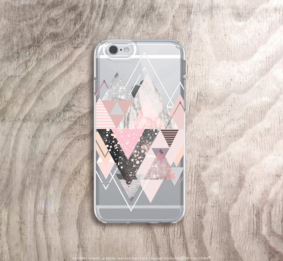 Iphone 6s Case Transparent Marble Iphone 6s Case By