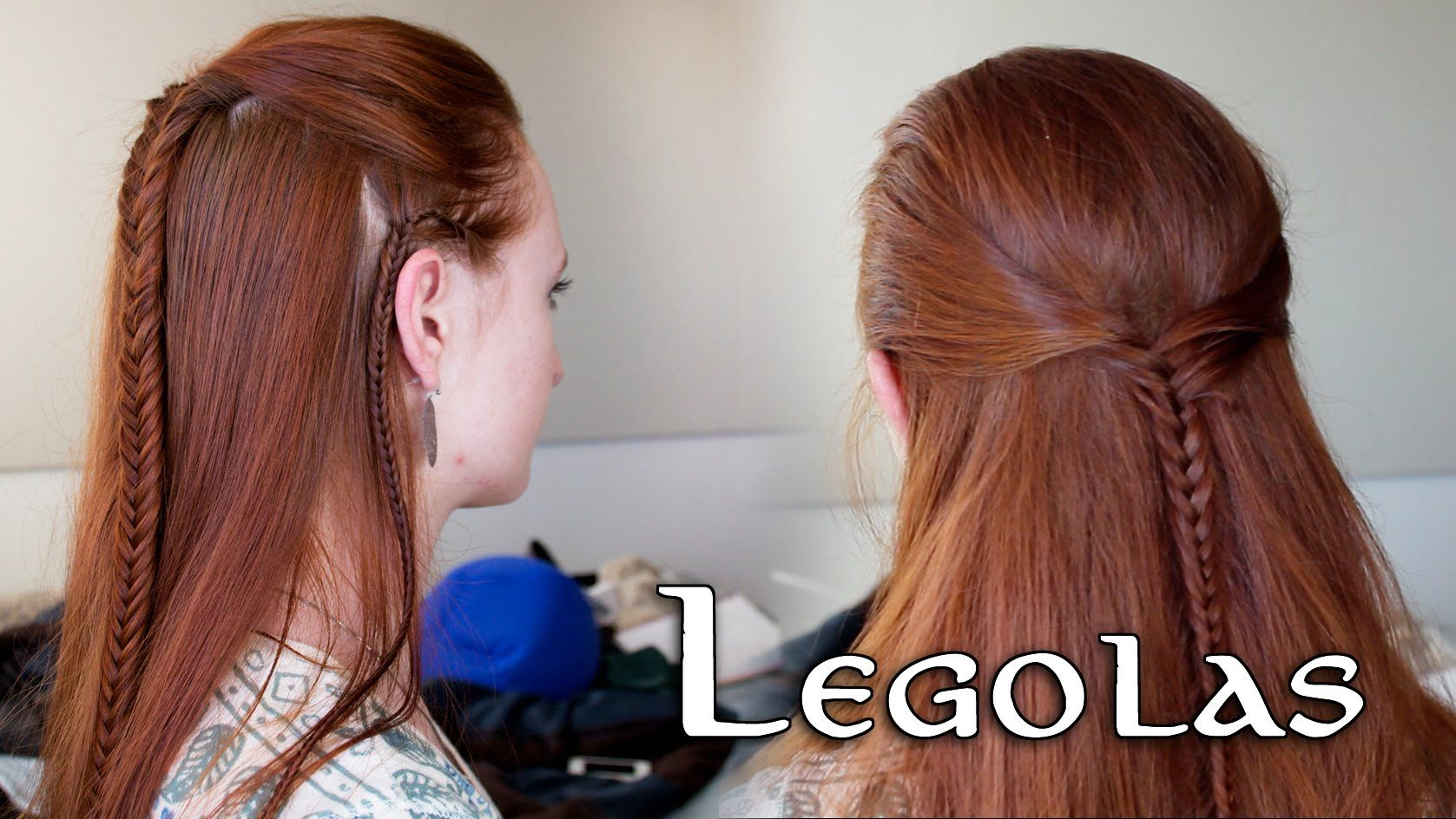 Lord Of The Rings Hair Tutorial Legolas I Love This Tutorial I M Going To Wear This To Co Op Sometime Elf Hair Hair Tutorial Elvish Hairstyles