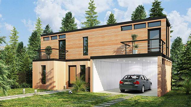 Une Maison Ecolo Pour 98 000 Maison Container Contener